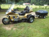 1991 HONDA GOLDWING SE WITH A VOYAGER REMOVABLE TRIKE