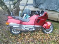 1991 Honda Pacific Coast 800cc. 38,000 miles, which for