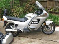 Nice one owner Honda ST1100. Silver. All routine
