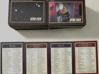 1991 Impel Star Trek Cards 25th Anniversary Complete