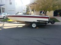 Great running 7 person ski boat available for sale.