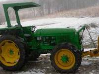 I have a 1550 John Deere 4x4 tractor for sale. Runs