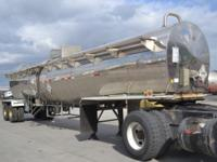 '91 Krohnert MC 307/312 Stainless Tanker, VIK good