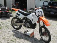 I have a KTM 300....it has an excel front rim, is in