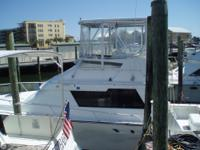 This Luhrs sport fisherman has the room and layout to