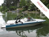 This 1991 Mastercraft Maristar 210 has been thoroughly