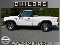 Only 120k miles on this 1991 Mazda B2600 4X4 Regular