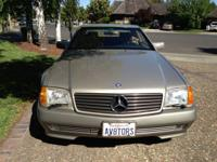 A true classic beauty, 1991 500SL, at only 64000 miles,