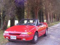 Fun and fast turbo convertible! Presently not running