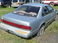 Selling in parts ONLY:. '91 Nissan Maxima. 3.0 L, 6cyl.