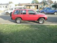 I AM SELLING A 1991 NISSA PATHFINDER 4DOOR, STRONG V6,