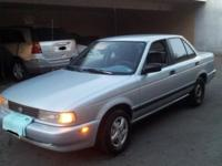 1991 Nissan sentra 4 Door Sedan 1.6L Engine 4