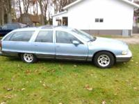 1991 Oldsmobile Custom Cruiser Wagon, runs, drives,