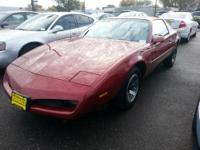 This 1991 Pontiac Firebird Firebird is offered