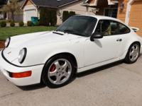 1991 PORSCHE 911 CARRERA 2 COUPE 5-SPEED MANUAL 3.6L