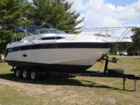 1991 Regal 270 Commodore 5.7 L V8 Mercury. This boat