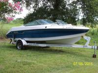 19 ft. open bow, inboard/outboard 175 hp Mercury