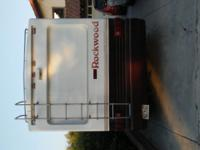 36 foot ROCKWOOD 40K see everything works perfect in