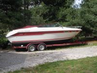 22' Searay with cuddy cabin. 5.7 Mercruiser. Boat has a