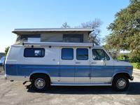 EXCELLENT CONDITION 1991 Sportsmobile Extended Camper