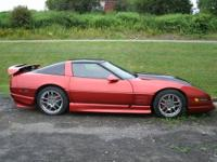 1991 Corvette with a vortec v1 supercharger setup