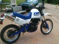 Up for sale is A 1991 Suzuki DR650S with almost 27k