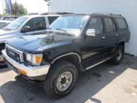 1991 Toyota 4Runner, just taken in trade, won't be here