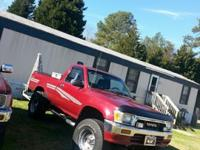 For Sale a 1991 Toyota 4x4, has 142 miles,