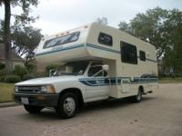1991 Toyota Itasaca Spirit 20ft Winnebago Motor home
