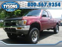 Good running 1991 Toyota 4x4 truck. Has some rust