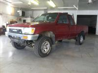 Fresh Trade 1991 Toyota Pickup Extended Cab 4x4, It Has