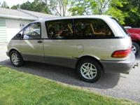 I am selling our '91 Toyota Previa All-Trac. This van