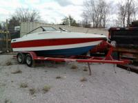 "1991 Wellcraft/192 Sport boat on trailer. 19'3"" (231"")"