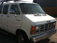 1991 Dodge Ram 350 Van - Second Generation Clear title