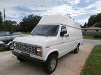Very Clean 1991 Ford 3/4 Ton Extended 3/4 Ton Cargo