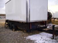 1991 Loadmaster DITCH WITCH EQUIPMENT TRAILER W/JOB