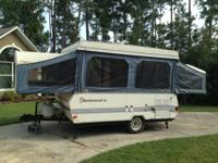 1991 Rockwood XL Pop Up.  Camper is in fair condition,