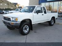 1991 Toyota Truck SR5 Clean CARFAX. Family owned and