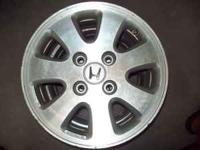 1992-1996 Honda Prelude Si wheels 4x4 1/2 bolt pattern