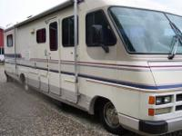 Allegro Bay 37' motorhome. 454 strong chevy fuel