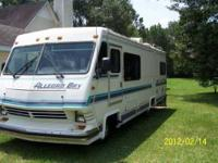 1992 Allegro Bay This Class A recreational vehicle has