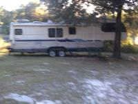 OBO. 1992 Avion Fleetwood 5th wheel motor home. 36 foot