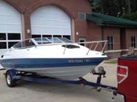 1992 Bayliner Capri 19' cuddy cabin powered by a