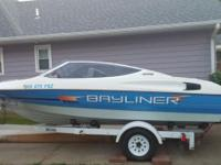 The boat is a 1992 Bayliner Capri 1850 with a 3.0,