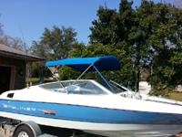 1992 Bayliner Capri Series 1800 BRpr. This boat is 18