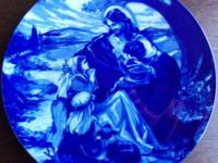 """Bless The Little Children"" collectible plate"