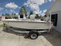 1992 Boston Whaler Outrage 19', 2 owner boat. Boat has