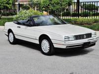 1992 Cadillac Allante Convertible ..76,000 Original