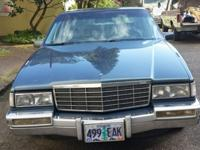 This is a extremely clean 1992 Cadillac Sedan Deville