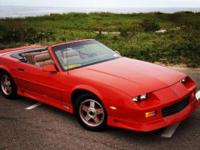 PRICE REDUCED!! 1992 Chevrolet Camaro RS Convertible